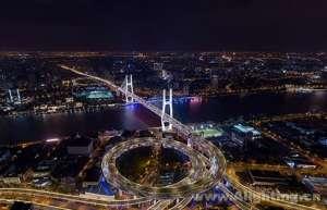 """昕诺飞智能照明系统为上海跨江大桥集体""""换装"""",增添城市夜景新风貌复合开关"""